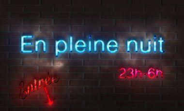 Project visual EN PLEINE NUIT - Court-métrage