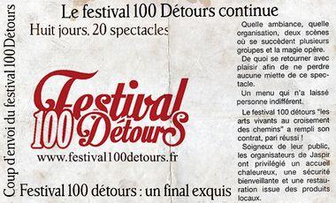 Visueel van project Festival 100 Détours