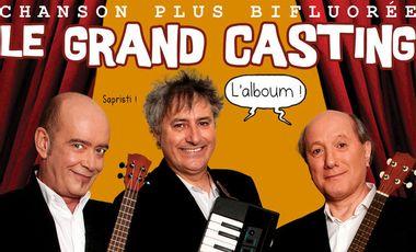 Project visual Participation à l'enregistrement du cd  « Le Grand Casting » de Chanson Plus Bifluorée