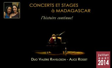 Project visual Concerts/stages à Madagascar - L'histoire continue !