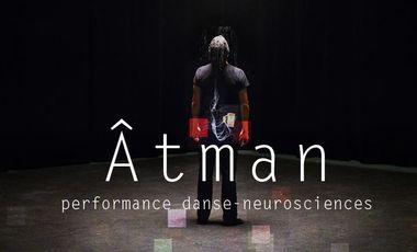 Visueel van project Âtman, performance danse-neuroscience