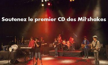 """Project visual le premier CD des """"Mil'Shakes"""""""