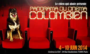 Project visual Panorama du cinéma colombien - Paris