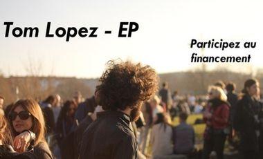 Project visual Tom Lopez -  Financement pour l'enregistrement du premier EP