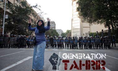 Visueel van project Génération Tahrir