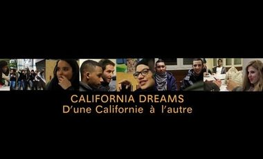 Visueel van project California Dreams : d'une Californie à l'autre