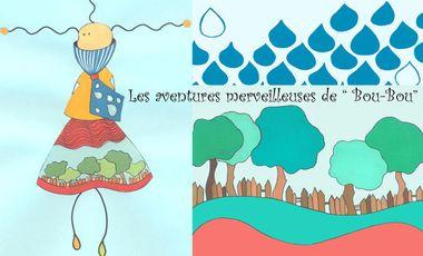 """Visuel du projet Les aventures merveilleuses de """"BOU-BOU"""""""