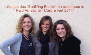Visueel van project L'equipe des Sarth'ing Blocks au Raid Amazone en 2014