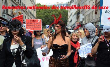 Project visual Rencontres nationales des travailleurSEs du sexe.