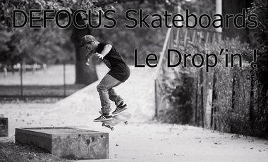 Visueel van project Defocus Skateboard, Le drop-in!