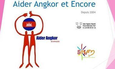 Visueel van project Aider Angkor Et Encore 2014