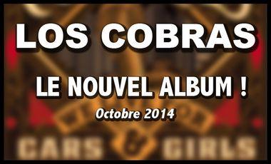 Project visual Nouvel album de LOS COBRAS