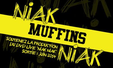 Visuel du projet Soutenez la production du DVD de Muffins