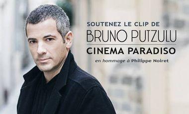 "Visuel du projet Clip ""Cinéma Paradiso"" de Bruno Putzulu"