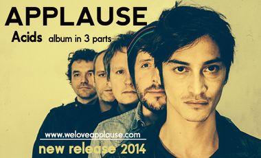Visuel du projet APPLAUSE NEW ALBUM IN 3 PARTS