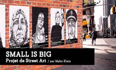 Visueel van project Small is Big - Street Art Project
