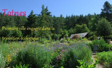 Visueel van project Totnes, première ville engagée dans la transition écologique