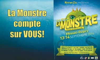 Project visual Rivenzic 2014: La Fête de la Monstre!