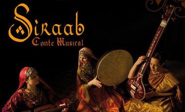 Visuel du projet SIRAAB CONTE MUSICAL: Deux représentations et captation vidéo