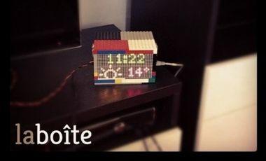 Project visual La boite