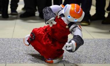 Visueel van project Robots !