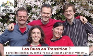 Visueel van project Rues en Transition