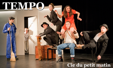 Project visual TEMPO A AVIGNON 2014