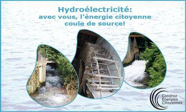 Visuel du projet Hydroélectricité: avec vous, l'énergie citoyenne coule de source!