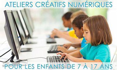 Visueel van project Ateliers créatifs numériques pour les 7-17 ans  Creative computing workshops for kids & teens
