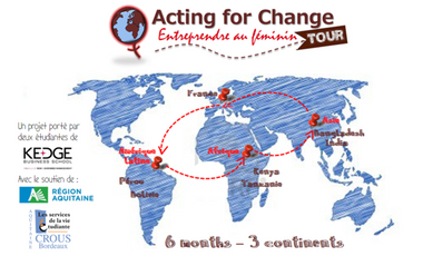 Project visual Acting for Change Tour