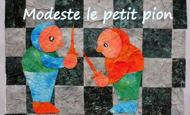 "Project visual ""Modeste le petit pion"" conte musical pour enfants"