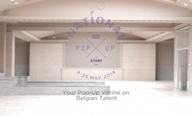 Project visual Nationa(a)l Pop-Up Store