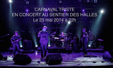 Visuel du projet Carnaval Triste au Sentier Des Halles