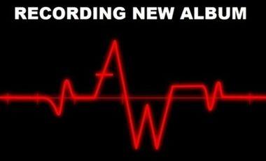 Visuel du projet ASHES WARRIORS recording first album