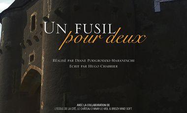 """Project visual Court-métrage """"Un Fusil pour deux"""" - Ecole de Luc Besson"""