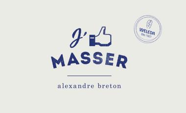 Visueel van project J'AIME MASSER
