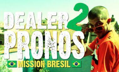 Visuel du projet Dealer 2 Pronos : Mission Brésil