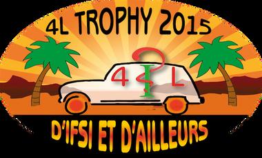 Project visual D'IFSI et d'Ailleurs : 4L Trophy 2015.