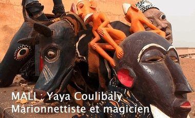 Visueel van project MALI, Yaya Coulibaly Marionnettiste et magicien