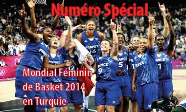 Project visual Numéro spécial mondial féminin de basket 2014 en Turquie