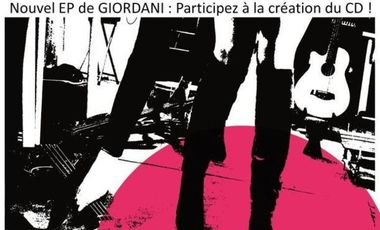 Project visual Nouvel EP de GIORDANI : Participez à la création du CD !