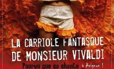 Visuel du projet La Carriole Fantasque s'aventure à Avignon !
