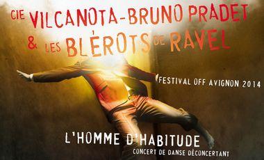 Project visual L'homme d'habitude au festival Off d'Avignon