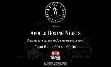 Visueel van project Apollo Boxing Nights 2014