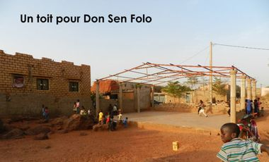 Project visual Ecole de danse du Mali DON SEN FOLO : fin des travaux