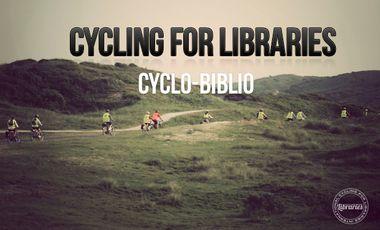 Visuel du projet Cyclo-biblio (Cycling for libraries)