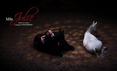 Project visual Mlle Julie - Théâtre Cirque Equestre