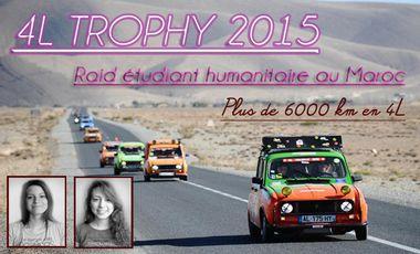 Visueel van project INgés'enSAblées - Raid humanitaire au Maroc - 4L Trophy