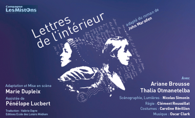 Project visual Lettres de l'intérieur à Avignon