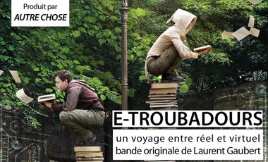 Visueel van project E-Troubadours